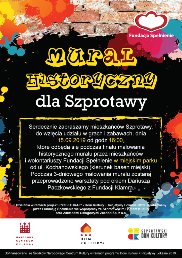 Mural dla Szprotawy