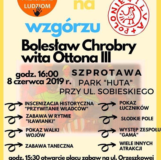 """""""Spotkanie na wzgórzu – Bolesław Chrobry wita Ottona III"""""""