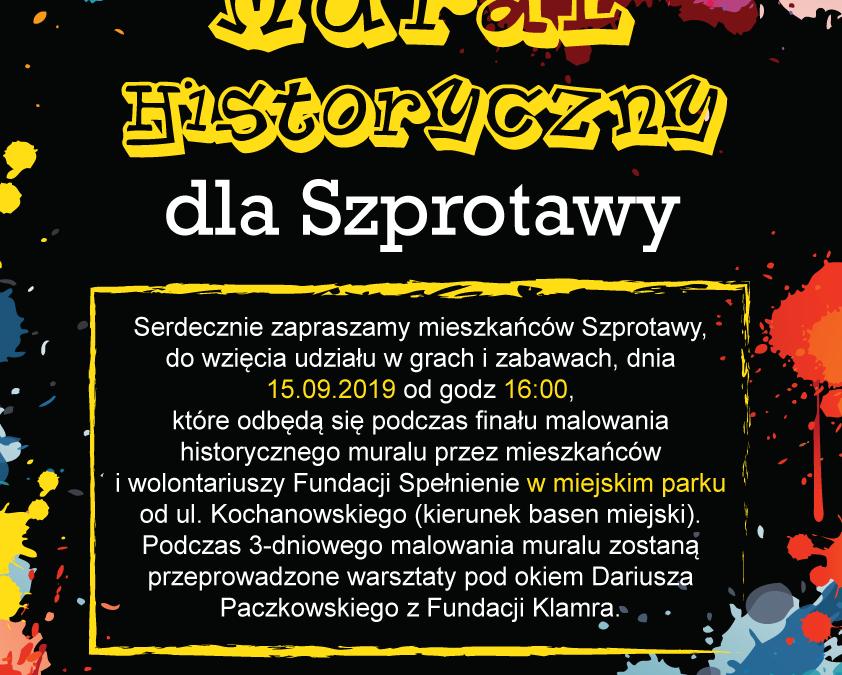 Mural Historyczny dla Szprotawy